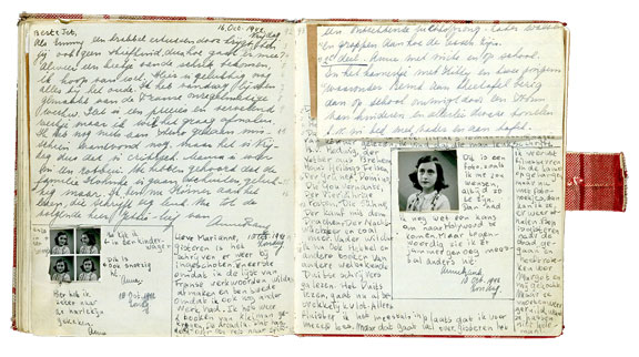 a journal entry in the diary of anne frank In march of 1945, 9 months after her arrest, anne frank died of typhoid in the  german bergen-belsen concentration camp at lunenburg wasteland her diary.
